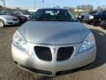 Pontiac G6 Sedan Liquid Silver Metallic photo #2