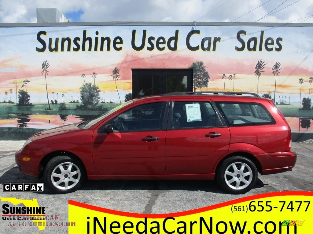 2005 Ford Focus ZXW SES Wagon in Infra-Red for sale - 230831   All ...