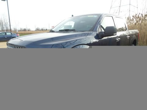 Blue Jeans 2018 Ford F150 XLT SuperCrew 4x4