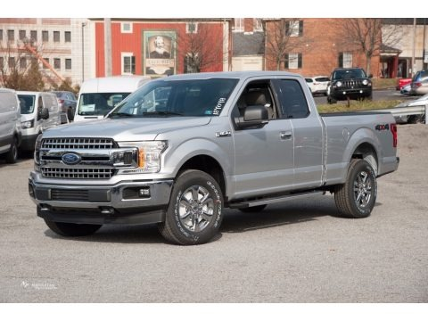 Ingot Silver 2018 Ford F150 XLT SuperCab 4x4