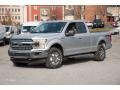 Ford F150 XLT SuperCab 4x4 Ingot Silver photo #1