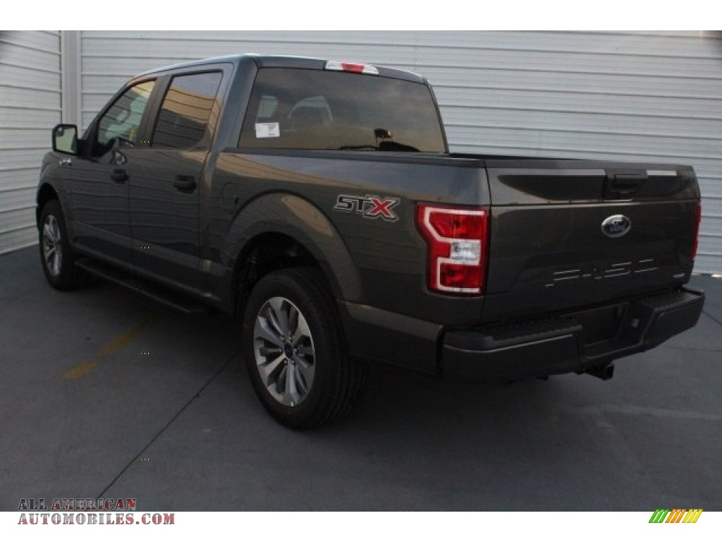 2018 F150 STX SuperCrew - Magnetic / Earth Gray photo #7