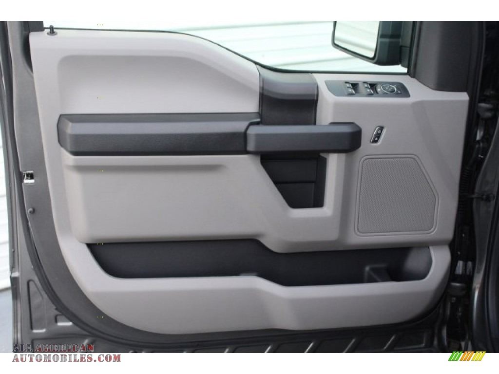 2018 F150 STX SuperCrew - Magnetic / Earth Gray photo #10