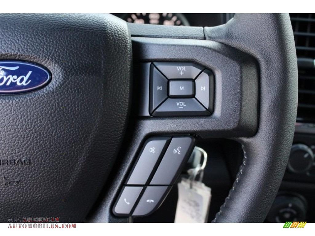 2018 F150 XLT SuperCrew 4x4 - Lightning Blue / Black photo #18