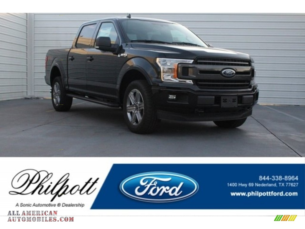 Shadow Black / Black Ford F150 XLT SuperCrew 4x4