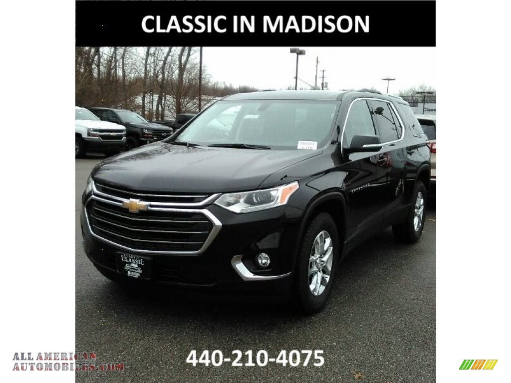 2018 Traverse LT AWD - Mosaic Black Metallic / Jet Black photo #1