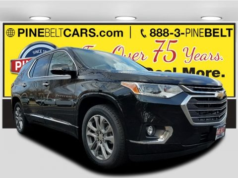Mosaic Black Metallic 2018 Chevrolet Traverse Premier AWD
