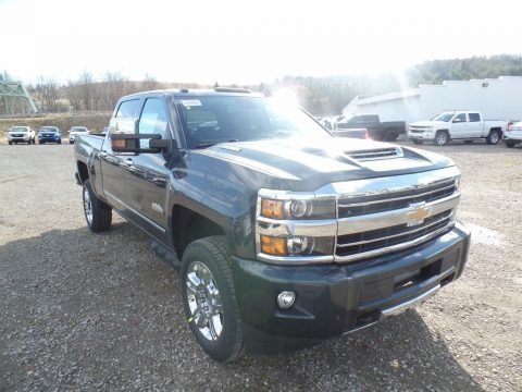 Graphite Metallic 2018 Chevrolet Silverado 2500HD High Country Crew Cab 4x4