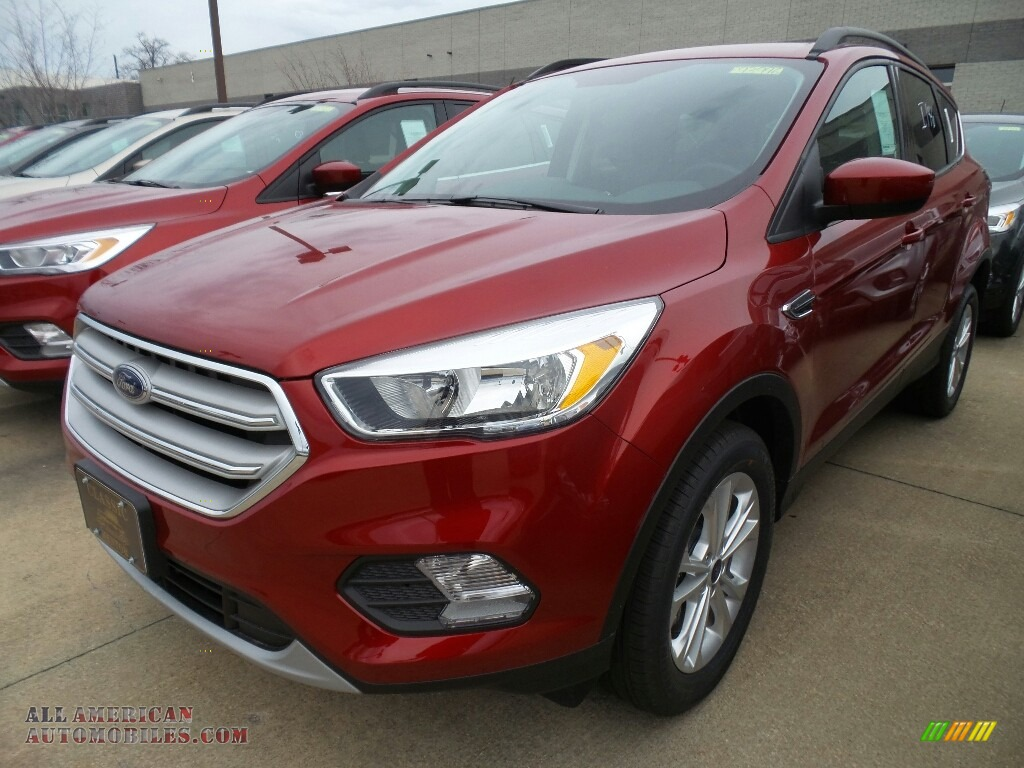 2018 Escape SE 4WD - Ruby Red / Charcoal Black photo #1