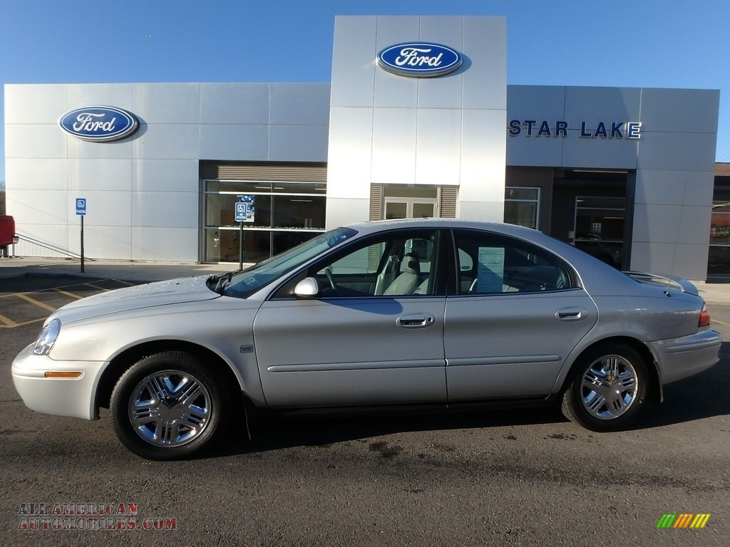 2005 Sable LS Sedan - Silver Frost Metallic / Medium Graphite photo #1
