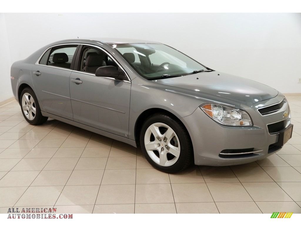2009 Malibu LS Sedan - Golden Pewter Metallic / Titanium photo #1