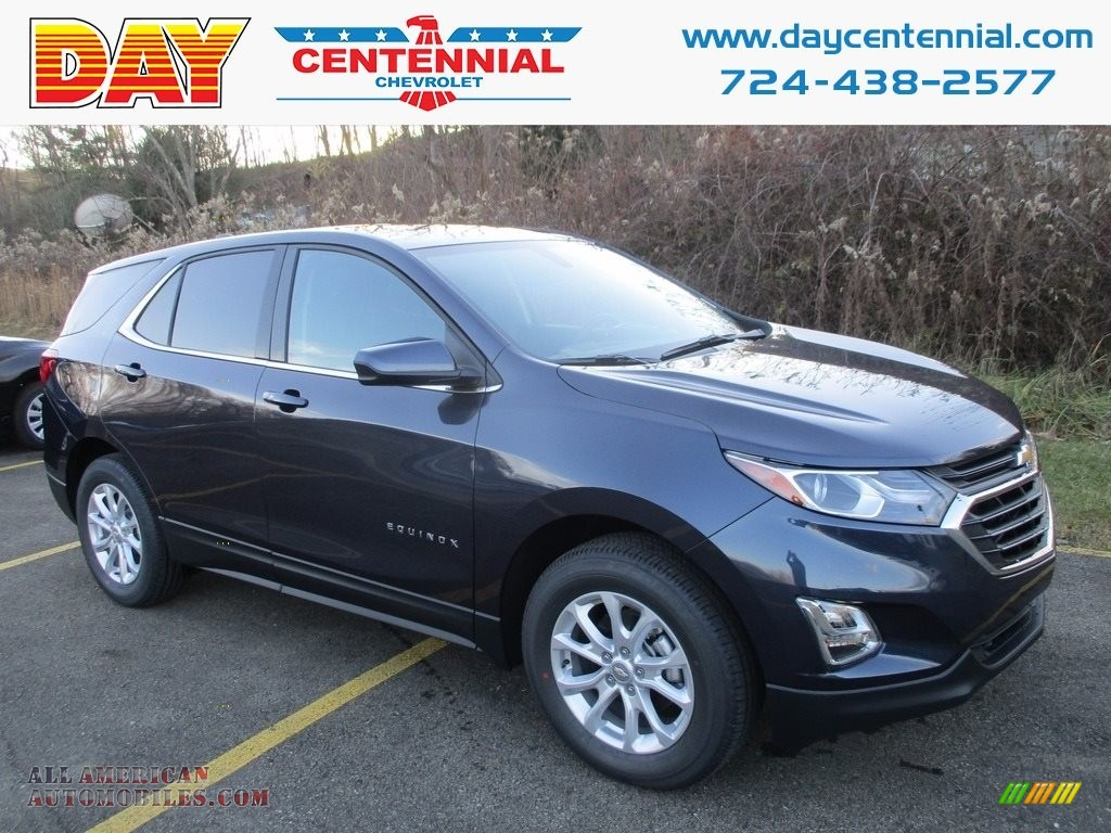 2018 Equinox LT AWD - Storm Blue Metallic / Jet Black photo #1