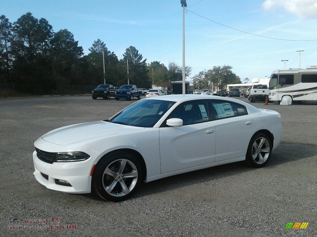 White Knuckle / Black Dodge Charger SXT Plus