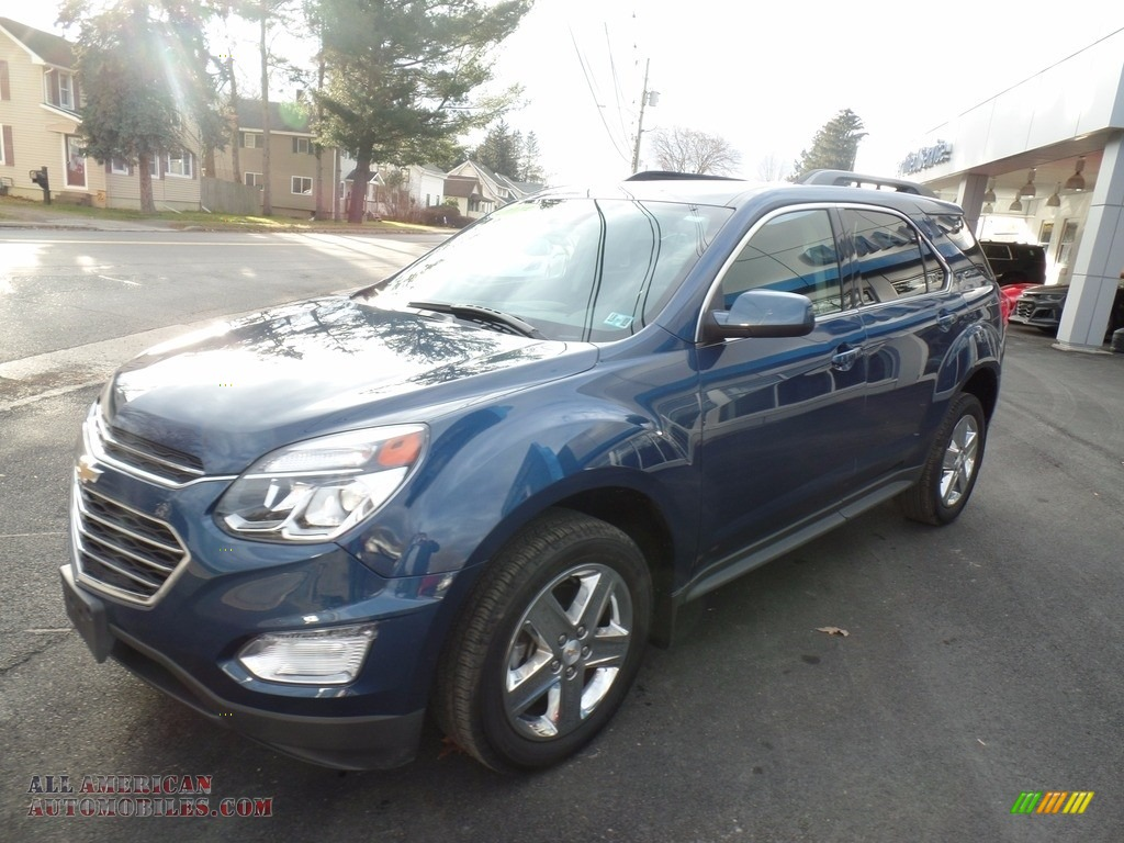 2016 Equinox LT AWD - Patriot Blue Metallic / Jet Black photo #1