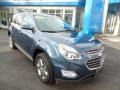 Chevrolet Equinox LT AWD Patriot Blue Metallic photo #3