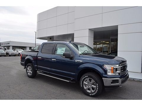 Blue Jeans 2018 Ford F150 XLT SuperCrew 4x4