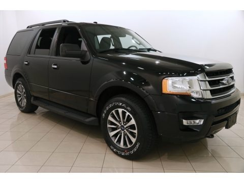 Shadow Black 2017 Ford Expedition XLT 4x4