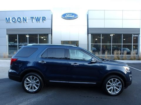 Blue Jeans 2017 Ford Explorer Limited 4WD