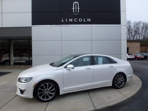 White Platinum 2017 Lincoln MKZ Reserve AWD
