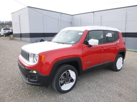 Colorado Red 2017 Jeep Renegade Limited 4x4