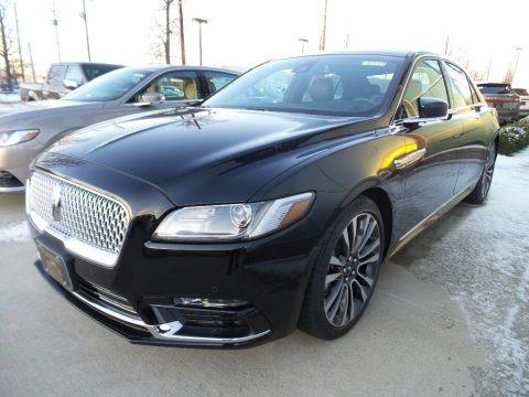 Black Velvet 2018 Lincoln Continental Select AWD