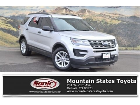 Ingot Silver Metallic 2016 Ford Explorer 4WD