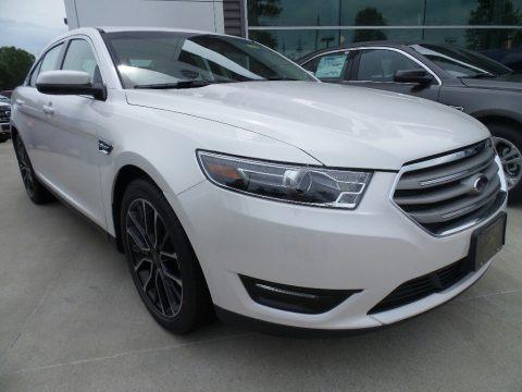 White Platinum 2017 Ford Taurus SEL