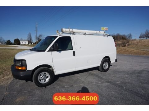 Summit White 2011 Chevrolet Express 2500 Work Van