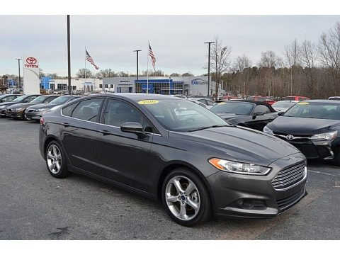 Magnetic Metallic 2016 Ford Fusion S