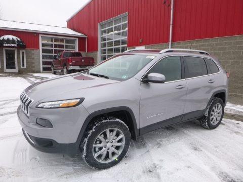 Billet Silver Metallic 2018 Jeep Cherokee Limited 4x4