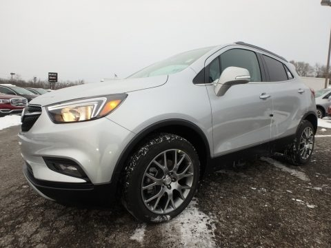 Quicksilver Metallic 2018 Buick Encore Sport Touring