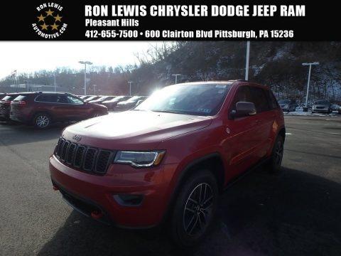 Redline 2 Coat Pearl 2018 Jeep Grand Cherokee Trailhawk 4x4
