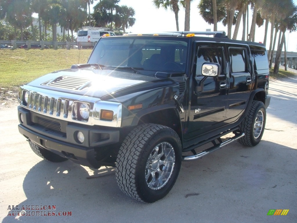 2005 H2 SUV - Black / Ebony Black photo #3