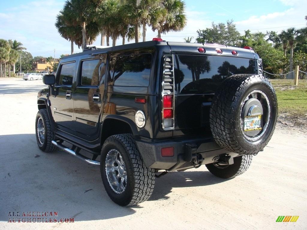 2005 H2 SUV - Black / Ebony Black photo #5