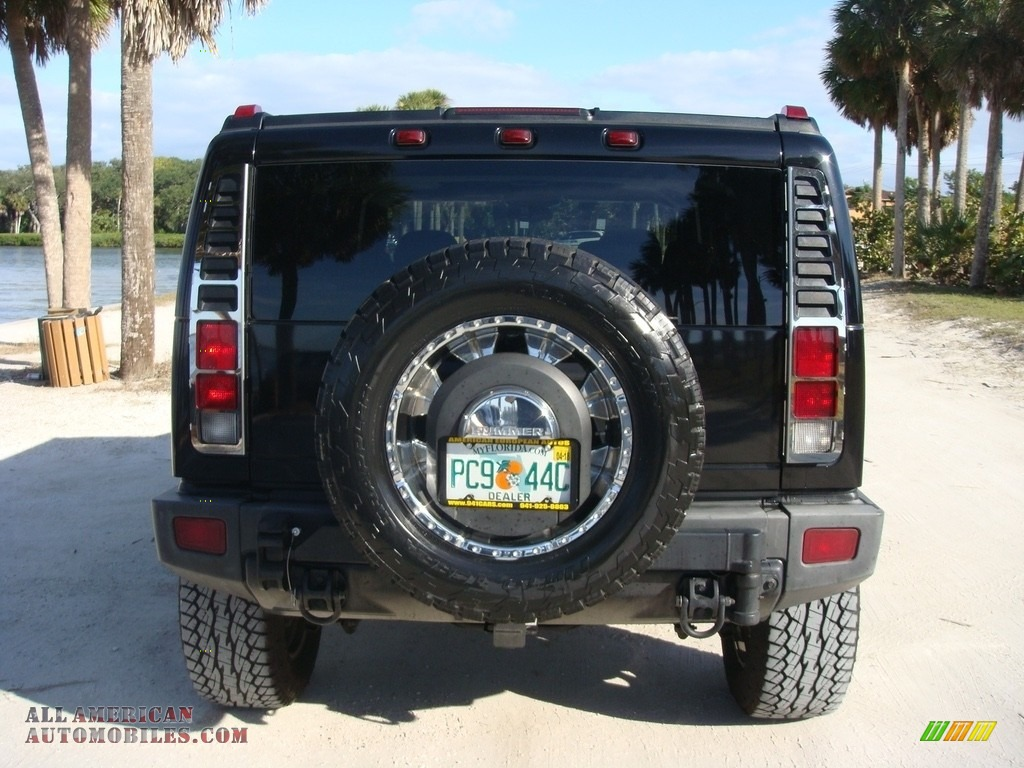 2005 H2 SUV - Black / Ebony Black photo #6