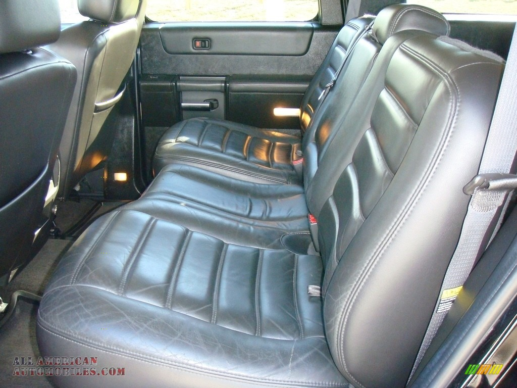 2005 H2 SUV - Black / Ebony Black photo #19