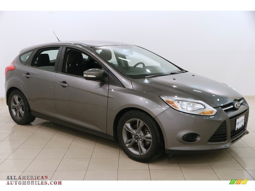 2014 ford focus se hatchback in sterling gray 448969 all american automobiles buy american. Black Bedroom Furniture Sets. Home Design Ideas