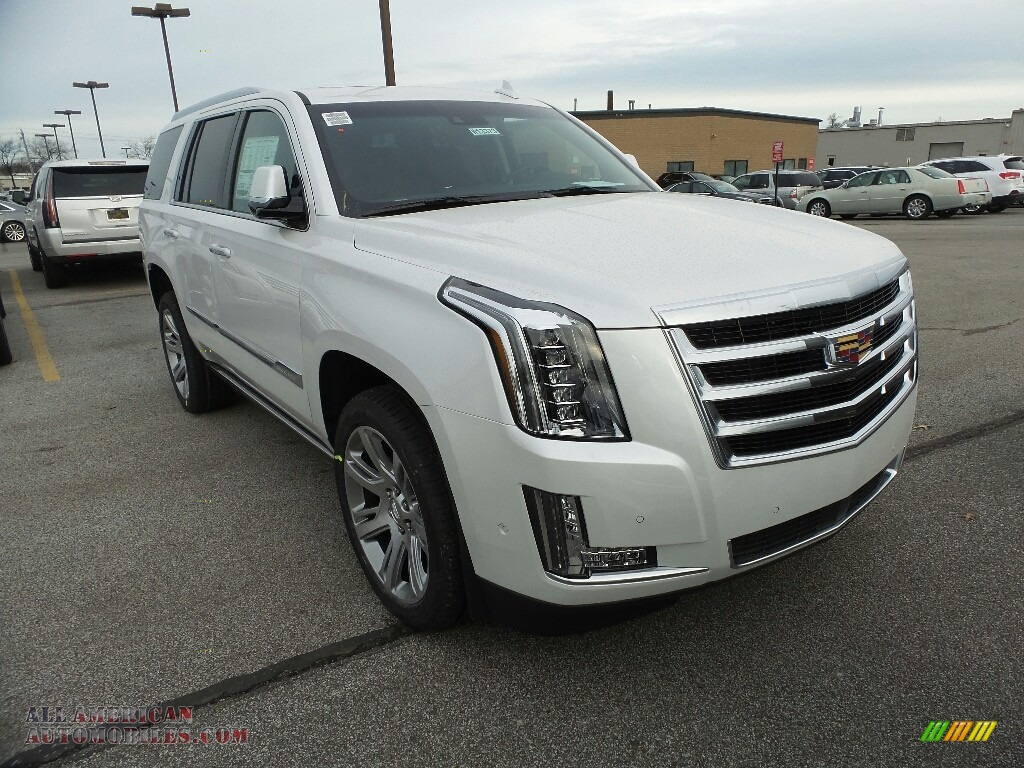 2018 cadillac escalade premium luxury 4wd in crystal white. Black Bedroom Furniture Sets. Home Design Ideas