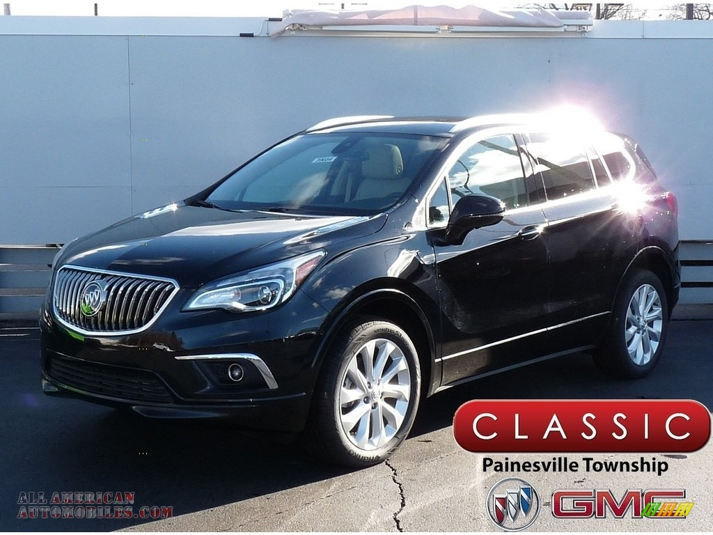 Ebony Twilight Metallic / Light Neutral Buick Envision Premium II AWD
