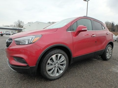 Winterberry Red Metallic 2018 Buick Encore Preferred