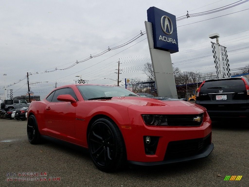2013 chevrolet camaro zl1 in victory red 801568 all american automobiles buy american cars. Black Bedroom Furniture Sets. Home Design Ideas