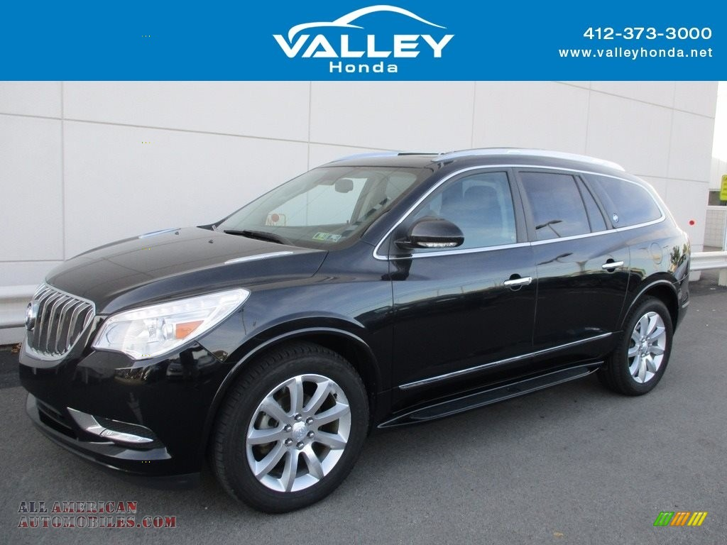 2014 Enclave Premium AWD - Carbon Black Metallic / Ebony photo #1