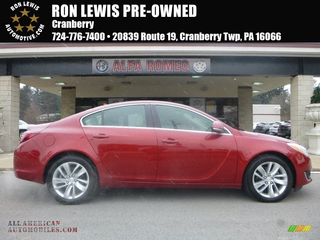 2014 Regal FWD - Crystal Red Tintcoat / Light Neutral photo #1