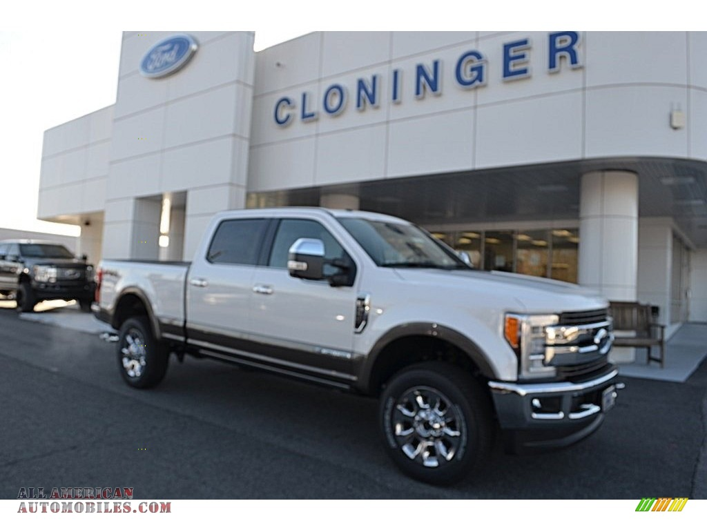 Blue Ridge Auto Sales >> 2018 Ford F350 Super Duty King Ranch Crew Cab 4x4 in White Platinum - B03907 | All American ...