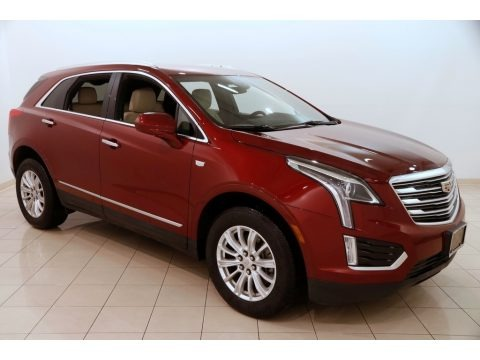 Red Passion Tintcoat 2017 Cadillac XT5 FWD
