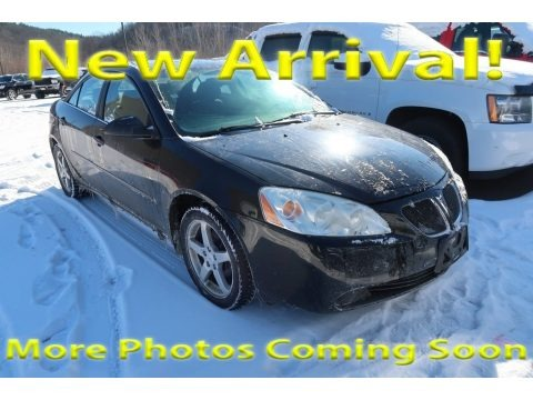 Black 2007 Pontiac G6 V6 Sedan