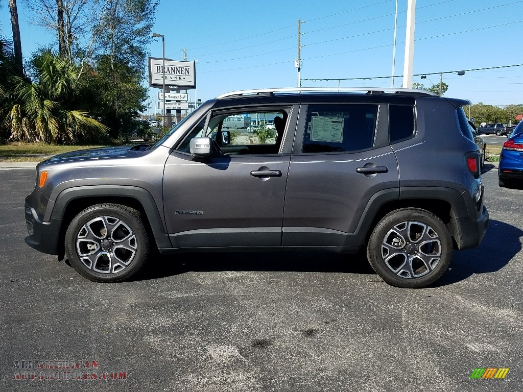 2017 Renegade Limited - Granite Crystal Metallic / Black photo #2