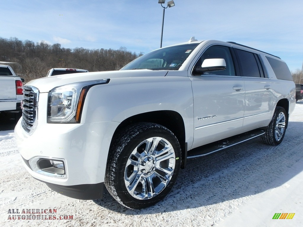 2018 Gmc Yukon Xl Slt 4wd In White Frost Tricoat 212955 All American Automobiles Buy American Cars For Sale In America