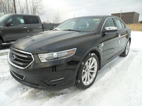 Shadow Black 2017 Ford Taurus Limited