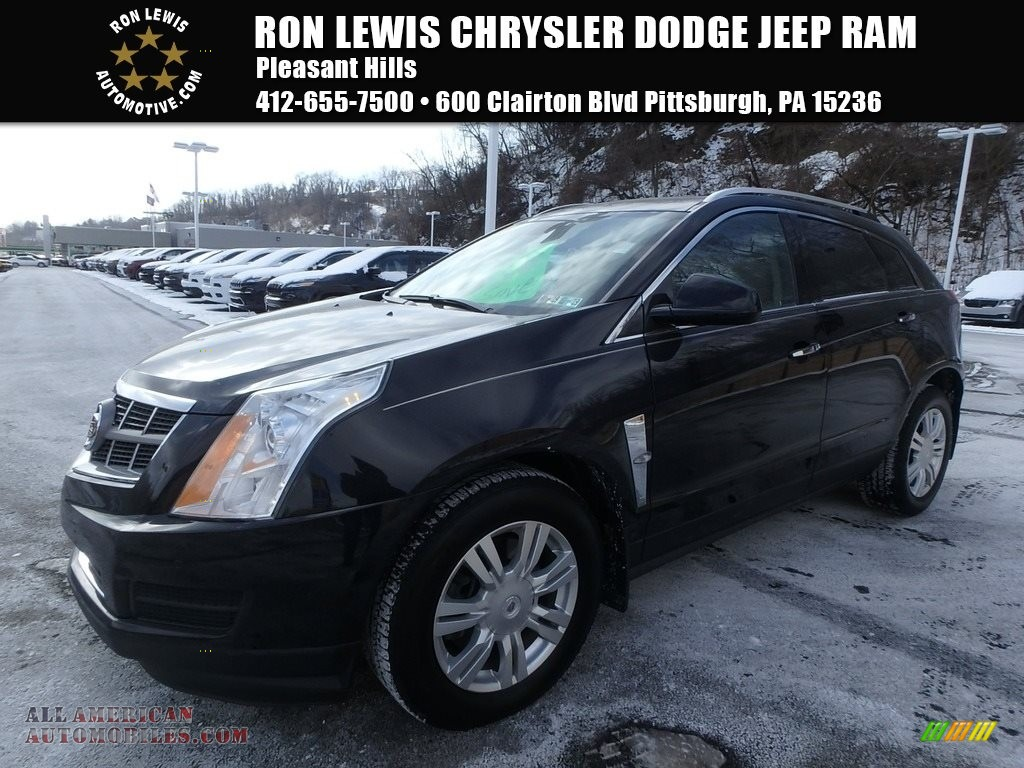 2012 SRX Luxury AWD - Black Raven / Titanium/Ebony photo #1